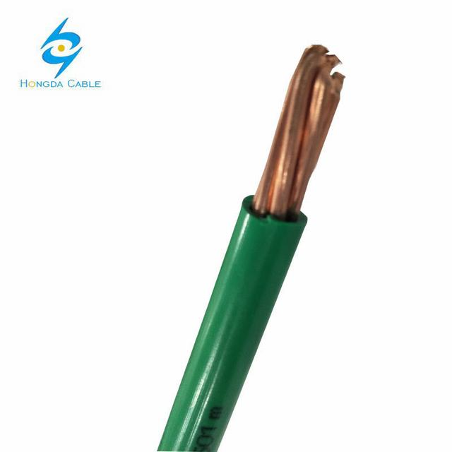 2/0 AWG Green Color Ground Straned Copper Cable
