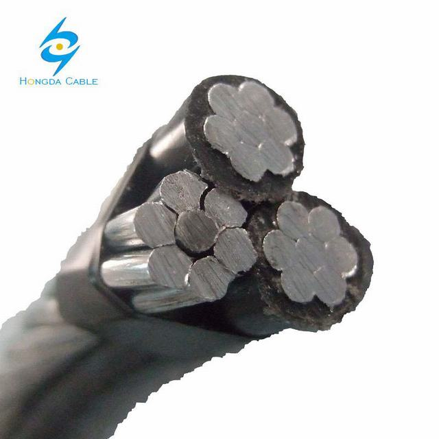 2*25+1*25 ABC Cable XLPE Insulated Aluminum Service Cable