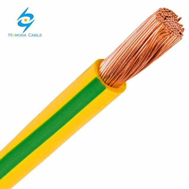 2.5mm2 4mm2 6mm2 10mm2 Copper Electric PVC Cable Wire Earth Grounding Wire
