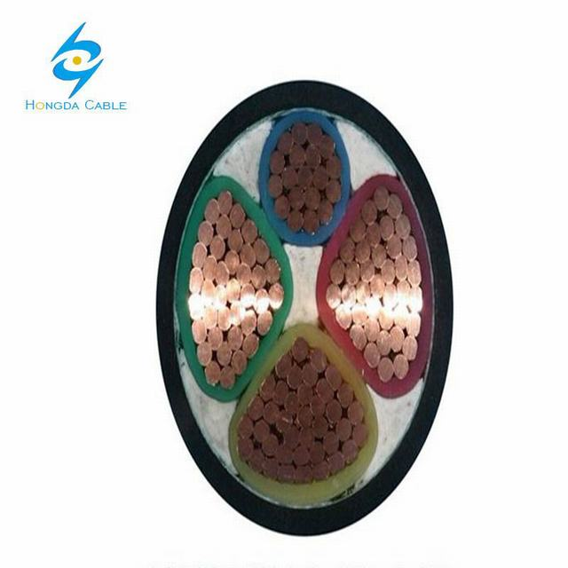 3*120+1*70 Copper Cable Yjv Copper Cable XLPE Insulated Copper Cable