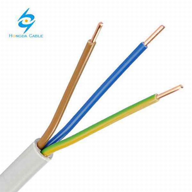 3 Core Nym-J 3X2, 5 PVC Installation Power Supply Cable
