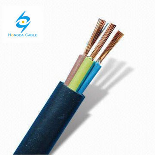 300/500V 3 Core 1.5mm2 PVC Insulated Flexible Wire