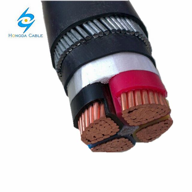 4*240 Armored Cable Cu/XLPE/PVC/Swa/PVC Armored Power Cable