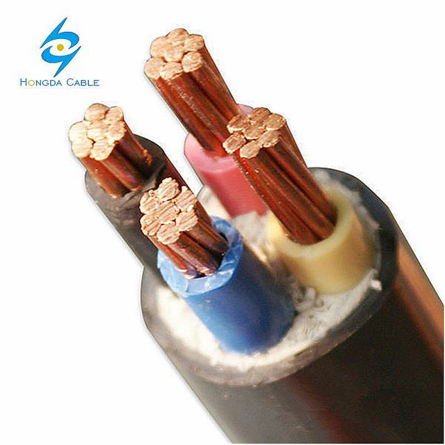 4 Core Cable 35mm Copper Ground Cable Low Voltage PVC Cable 4X35 Nyy