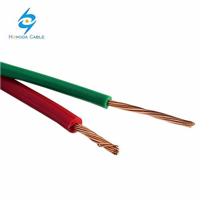 450/750V Copper Conductor PVC Insulated Electrical Wire House Wiring Materials