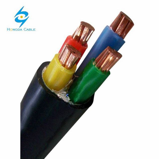 4X35+16 mm2 Nyy (YVV) Kablo 1kv PVC Insulated Cables with Copper Conductor