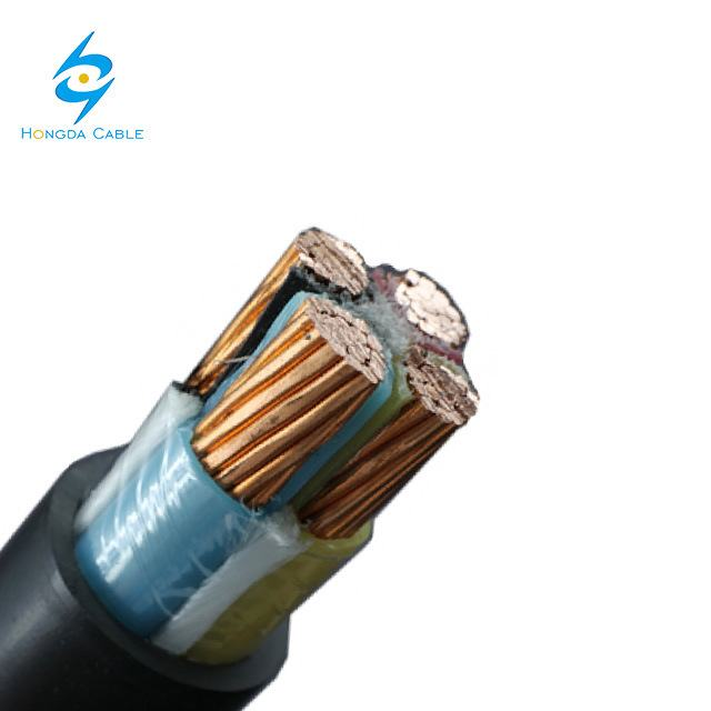 4X95mm 4X120mm Cooper Power Cable 4core PVC/XLPE Insulation PVC Jacket 1kv