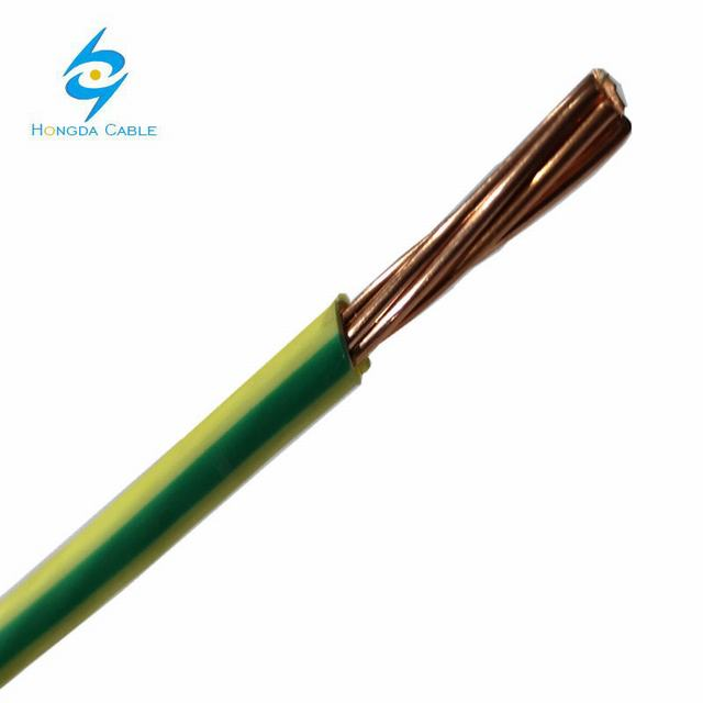 4mm2/6mm2 Copper Conductor PVC Electric Wire for Building or Constrction