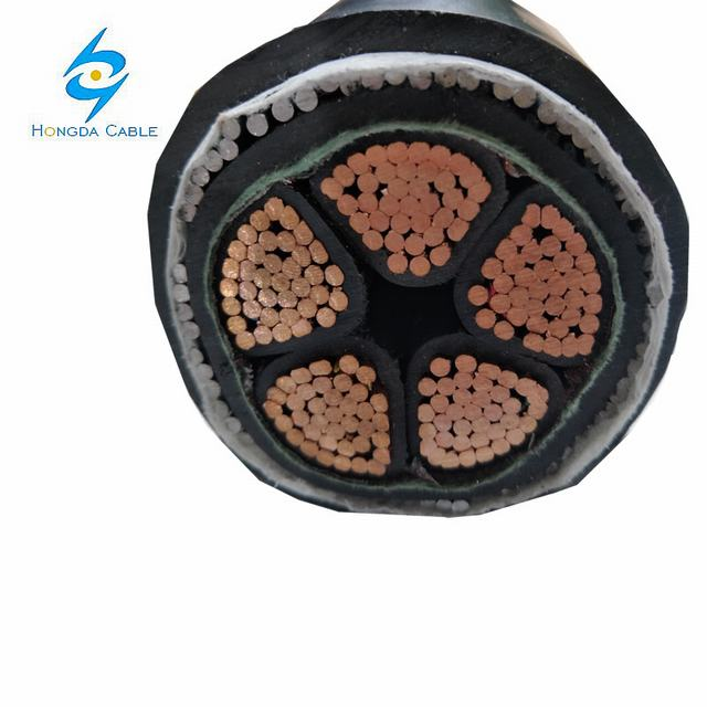 5*185mm2 Steel Wire Armored Cable Swa Armored Cable