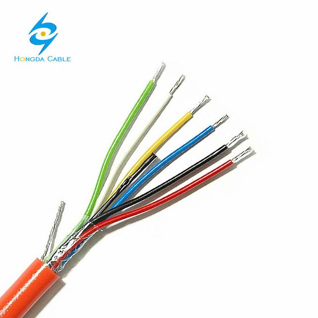 6 Core Flexible Cable Electrical Cable Wire 3.5mm