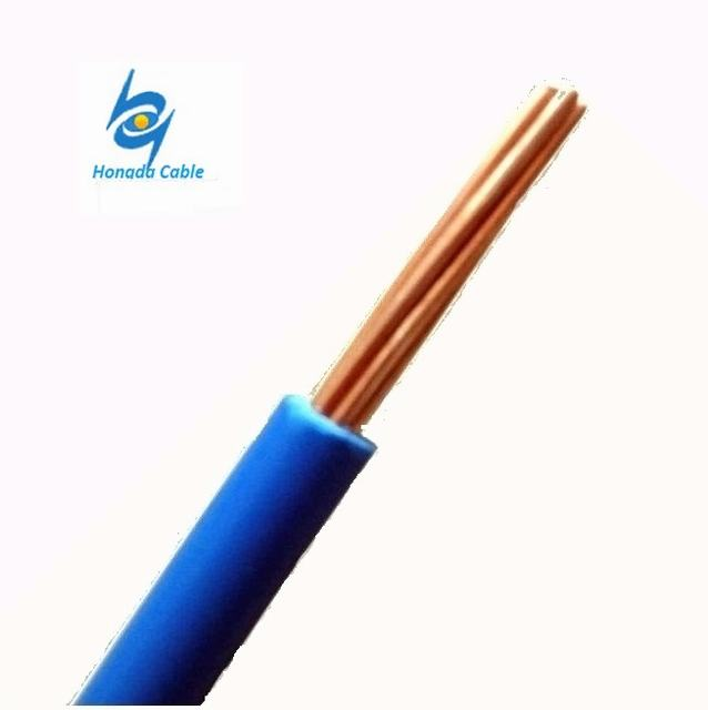 600V 6 4 2 AWG Copper Conductor PVC Insulated Thw Tw Electric Wire