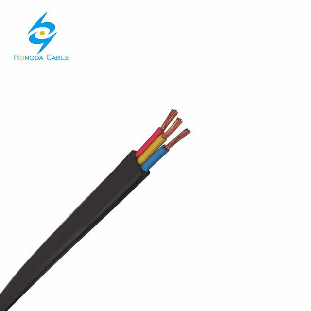 6mm Copper Wire Flexible Flat Cable Elevator Cable