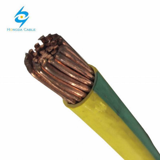 95mm Yellow and Green Earthing Cable PVC Insulated Single Core Copper Cable