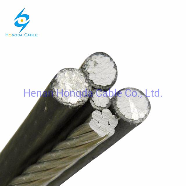 Aluminum Core PVC XLPE Insulated Aerial Twisted Bundle Cable