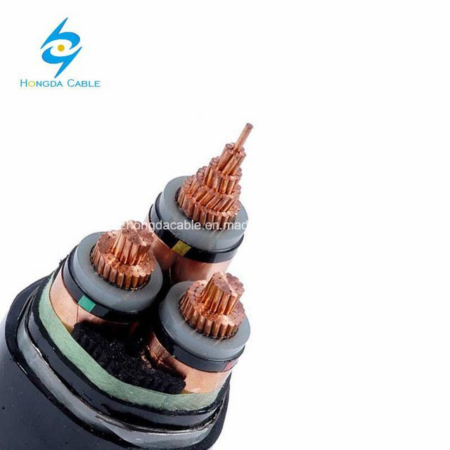 Australian Standard Polymeric Insulated 3 Core Underground Cables