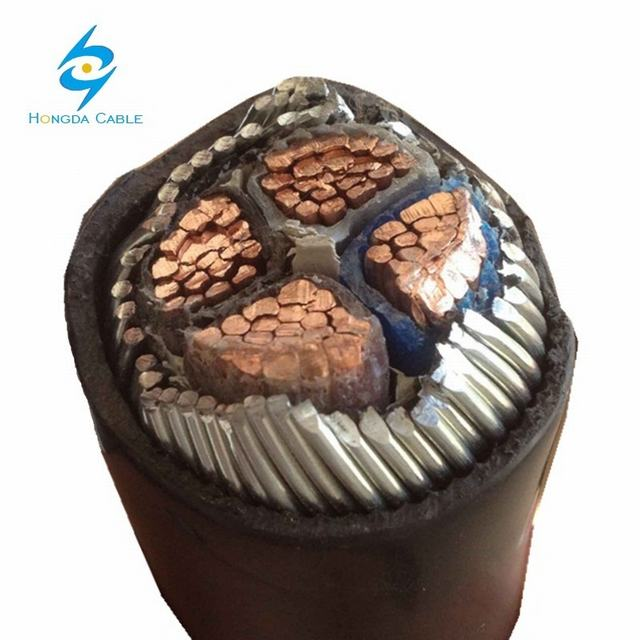 BS 6724 Cubierta LSZH 0.6/1kv LV POWER Cable Blindado de Swa