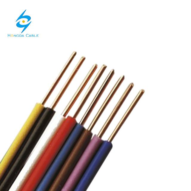 Building Cooper Wire 450/750V 300/500V Stranded Aluminum Wire for Electrical Equipment PVC Insulation 2.5mm
