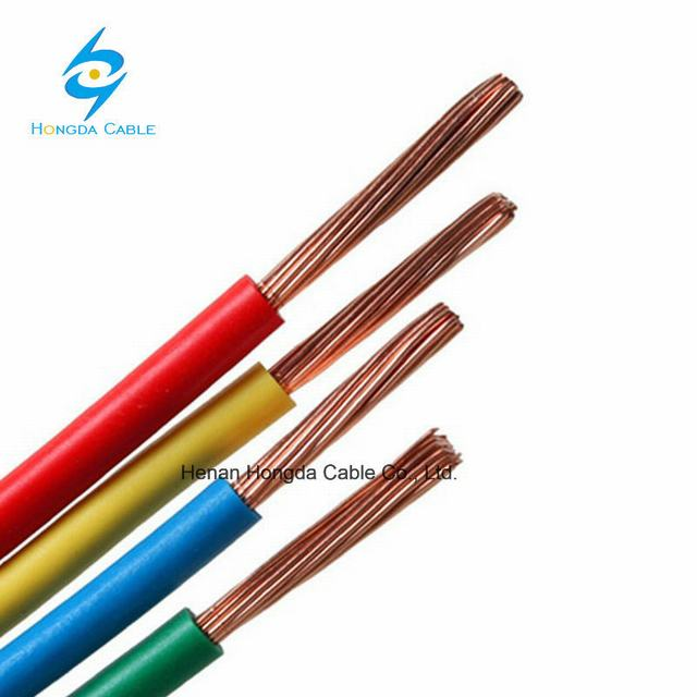 Ce Certificate PVC Insulated Copper H07V-R H07V-U H07V-K Wire Cable