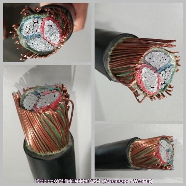 Copper Conductor XLPE Insulated Armoured Electrical Cable