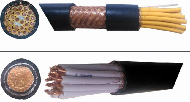 Copper Wire XLPE Insulated Copper Foil Screen Steel Tape Armoured Control Cable