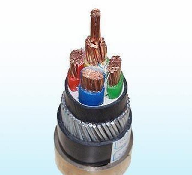 Cu/XLPE/PVC/Swa/PVC 600/1000V Class 2 XLPE Insulated PVC Sheathed Steel Wire Armoured Muticores Power Cables