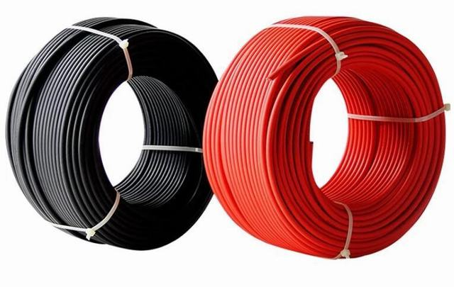 DC Solar Cable 4mm 6mm Fy-I TUV Certificate -40+-125 Degrees Pfg 1169 PV1-F