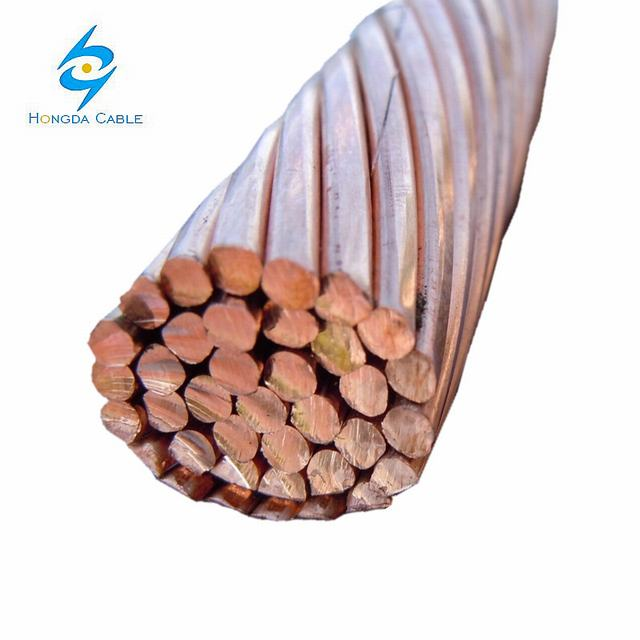 Earth Copper Ground Conductor 35mm2 50mm2 70mm2