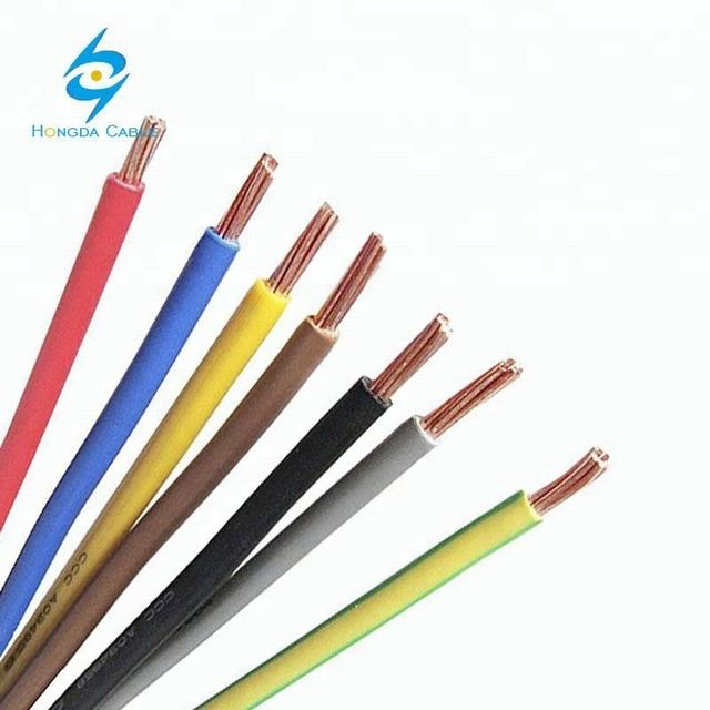 Earth Wire PVC Insulation Copper 35mm 50mm 70mm Yellow and Green Cable