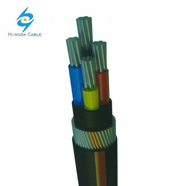 Ecc Copper Power Cable PVC Sheathed Cable