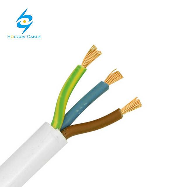 Flexible Cooper Cable Motorized Lighting System 3X2.5mm Flame Retardant Cable