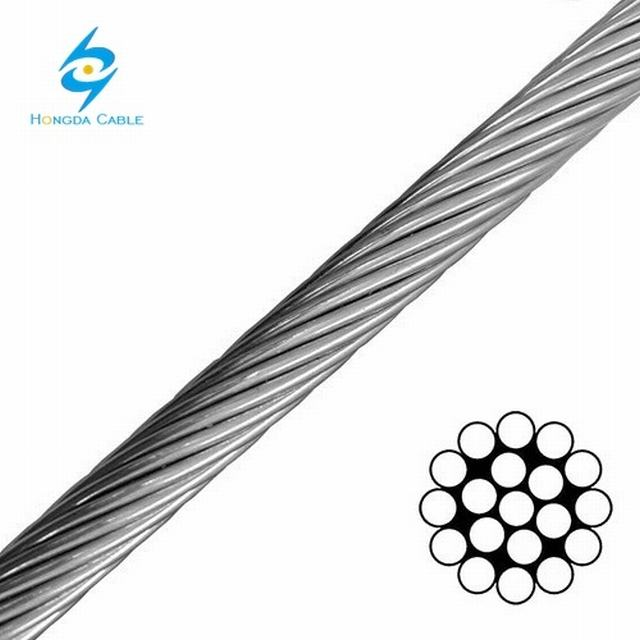 "Galvanized Steel Wire Strand for Guy Wire 1/4"" Ehs"