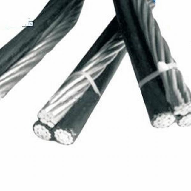 LV Overhead Aluminum AAC AAAC Conductor XLPE Insulated Twisted Duplex Triplex Quadruplex Multicore ABC Cable