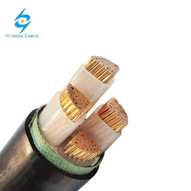 Low Voltage 4X35mm 4X95mm Cooper Power Cable XLPE Cable Underground Cable
