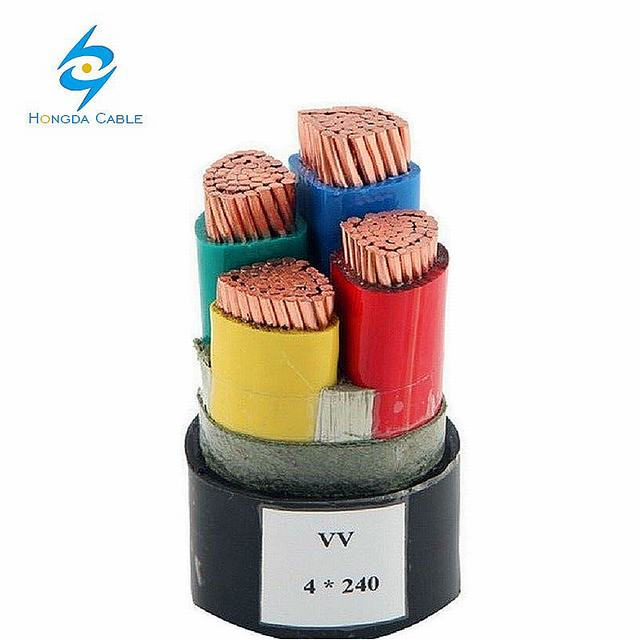 Low Voltage Power Cable Price List XLPE Insulated Cable 90c 4cx50mm2