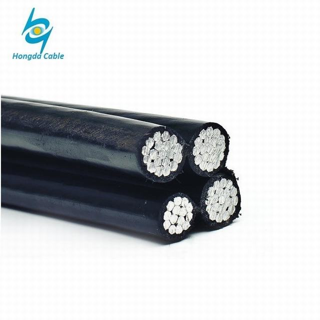 Low Voltage Service Drop Aerial Boundle ABC Cable