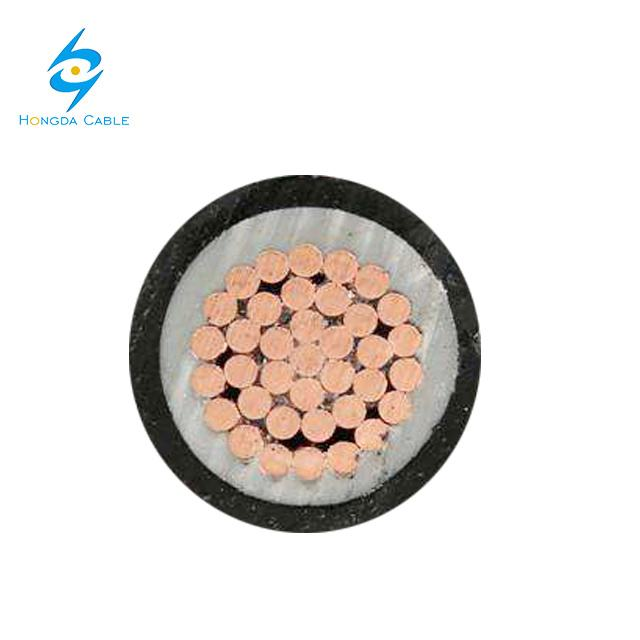 Low Voltage Single Core XLPE Insulation Cooper Power Cable 1X95mm 1X185mm