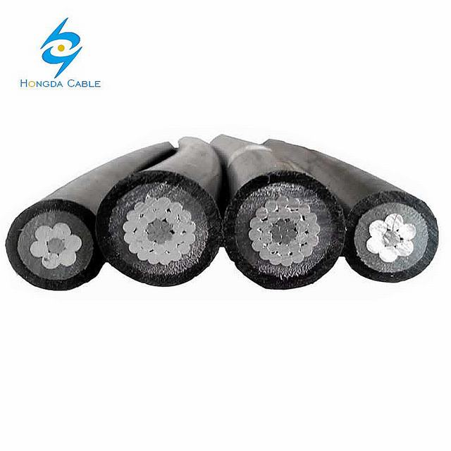 Medium Voltage Mv ABC Cable Ground Use Aluminium Urd Cable