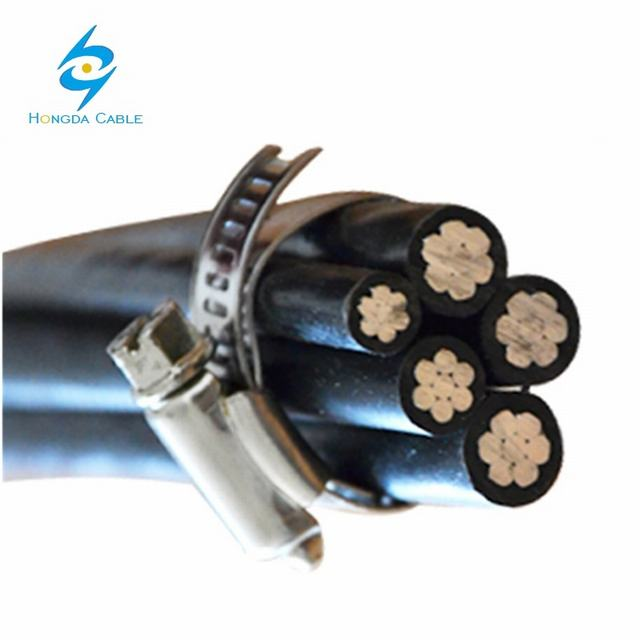 NFC 33-209 ABC Aerial Bundled Cables for Overhead Power Lines