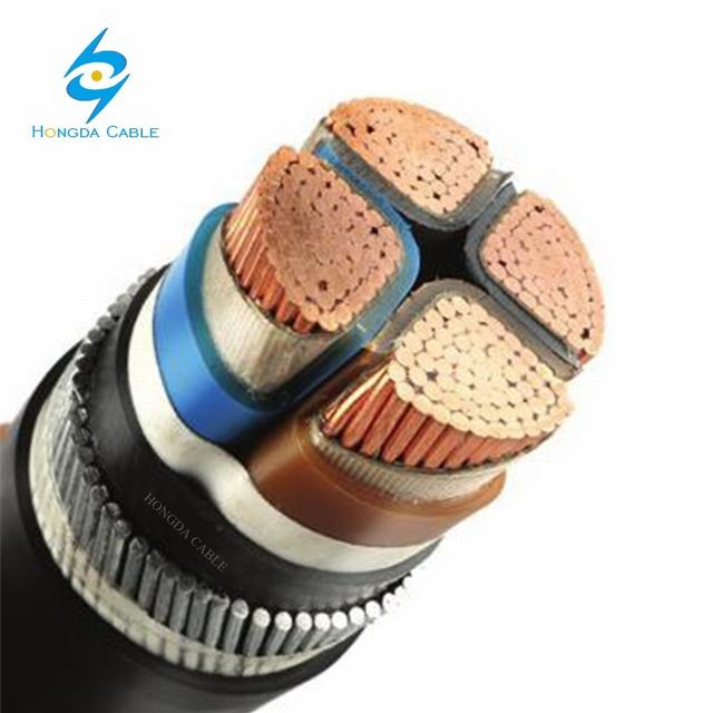 Nayfgy 3X300+1X150mm2 0.6/1kv PVC-Insulated Cables with Aluminium Conductors