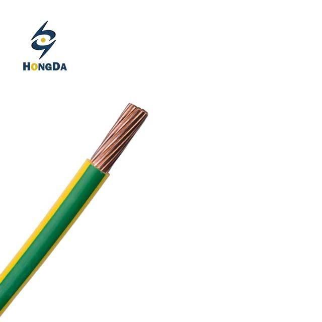 PVC Insulation Material and Copper Conductor Material Electric Wire and Cable 16mm