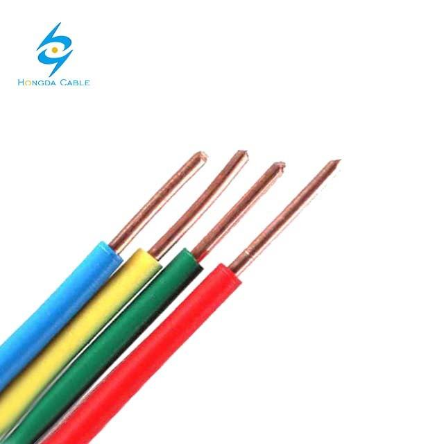 Polyvinyl Chloride Insulated Cables and Cords of Rated Voltages up to and Including 450/750V