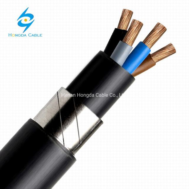 Rvfa3V-K / Rvf3V-K Flame Retardant Flexible Copper Steel Tape Armour Cable
