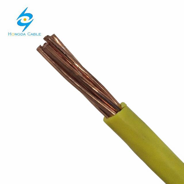 Single Copper or CCA Conductor PVC Insulated (BV/H07V-U) Electric Wire