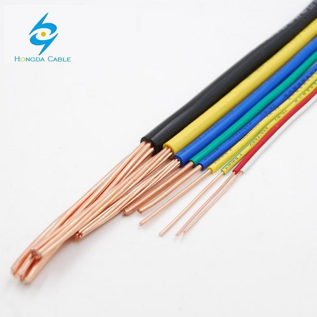 Single Stranded Flexible Cable Cooper Building Electrical Wire 1.5mm 2.5mm 4mm 6mm 10mm 7 Core Stranded Cooper Cable.