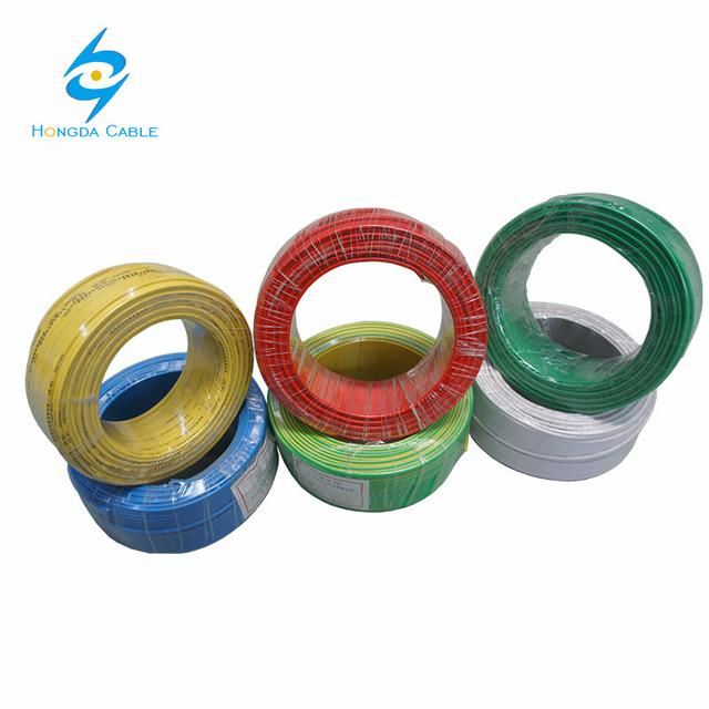 Solid or Stranded IEC 60227 Standard PVC Insulated Tw Thw Electrical Wire