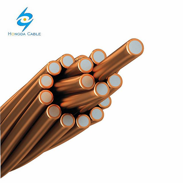 Strand Copper Clad Steel Wire CCS Grounding Cable Price