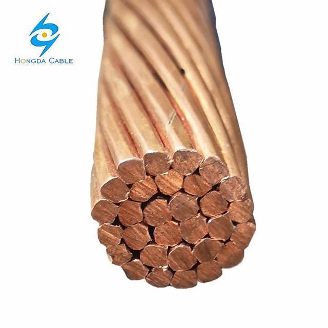 Stranded Copper Wire Bare Earth Ground Cable 35mm2 70mm2