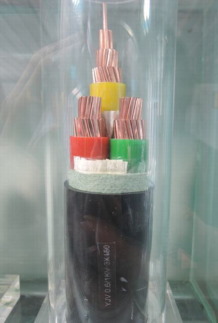 Three-Core 600/1000V XLPE Insulation, LSZH Sheath Copper Cables to BS 8573