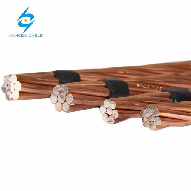 Underground Electrical Wire Copper Clad Steel Conductor