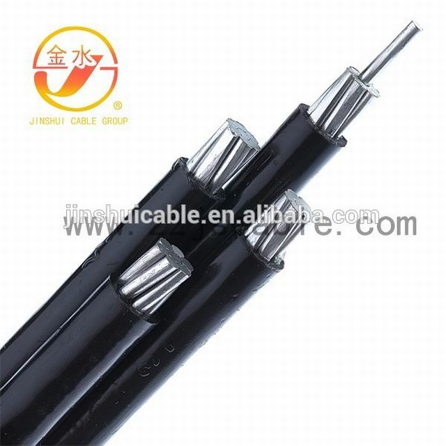 0.6/1kv Al/XLPE Weatherproof Cable Service Drop ABC Cable